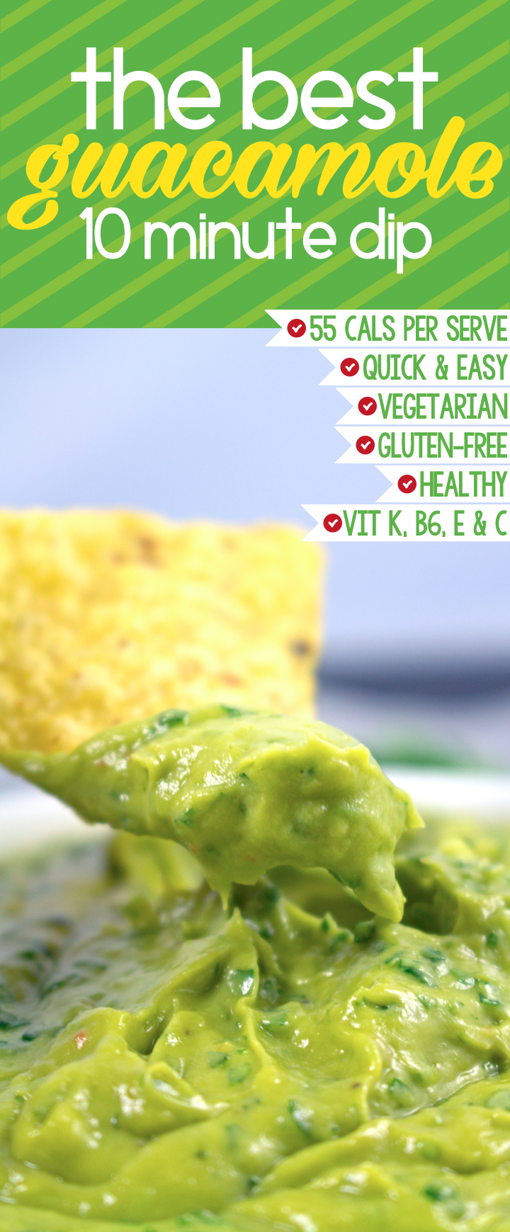 Best Guacamole Recipe - This is by far the BEST guacamole dip I've ...