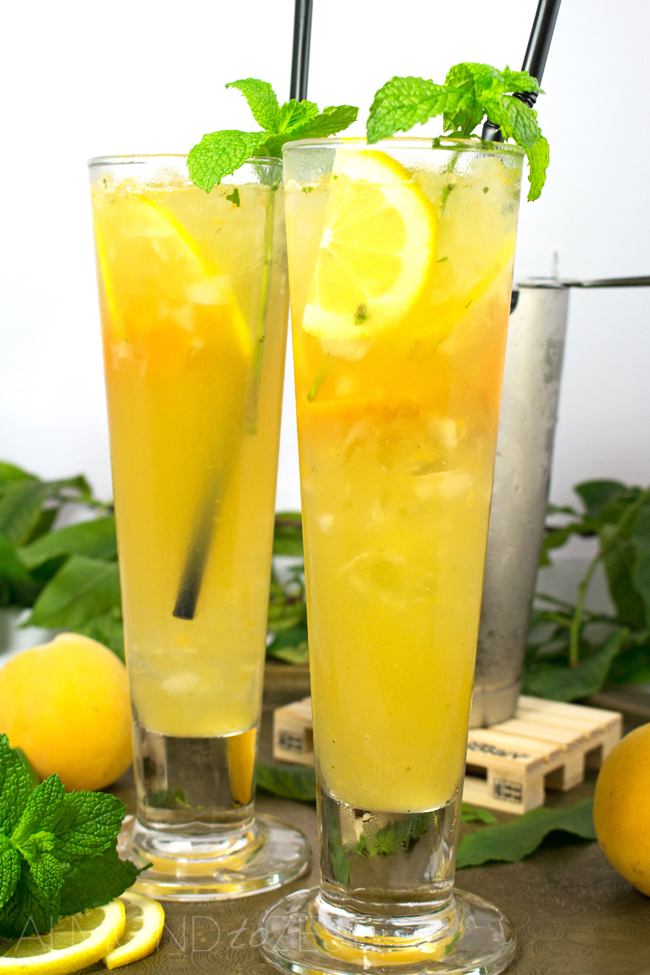 Georgia Spiced Tea - This spectacular cocktail is best enjoyed in a comfy chair on the back deck watching the sun go down after a hard days work