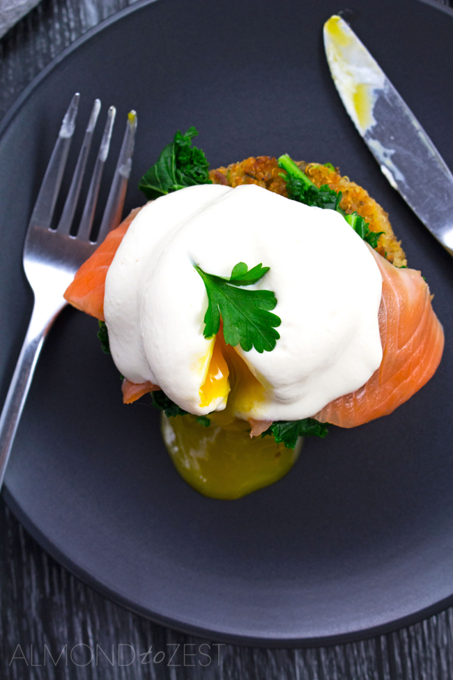 Superfood Poached Eggs Benedict