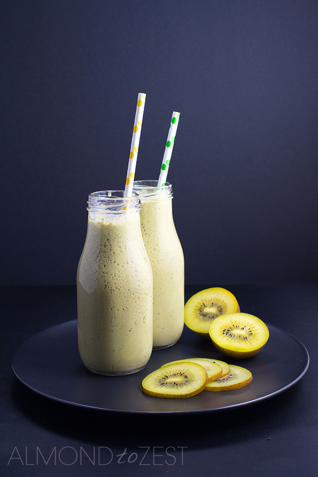 Matcha and Kiwifruit Smoothie