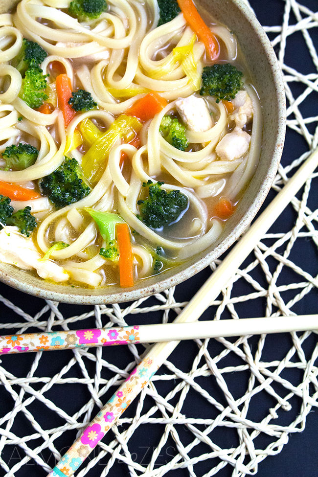 Chicken and Ginger Noodle Soup