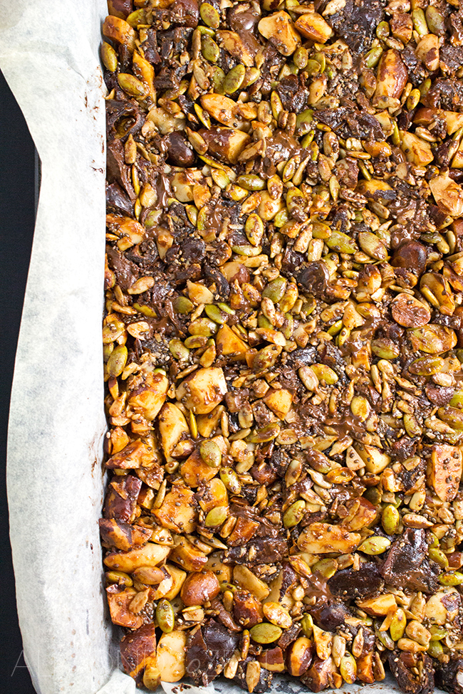 Grain-Free Granola Bars