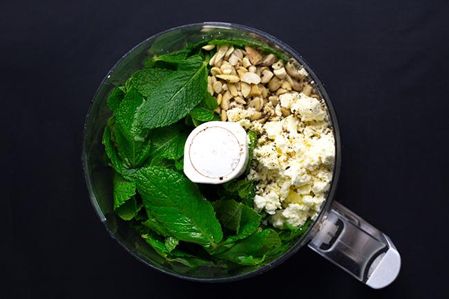Mint and Feta Pesto