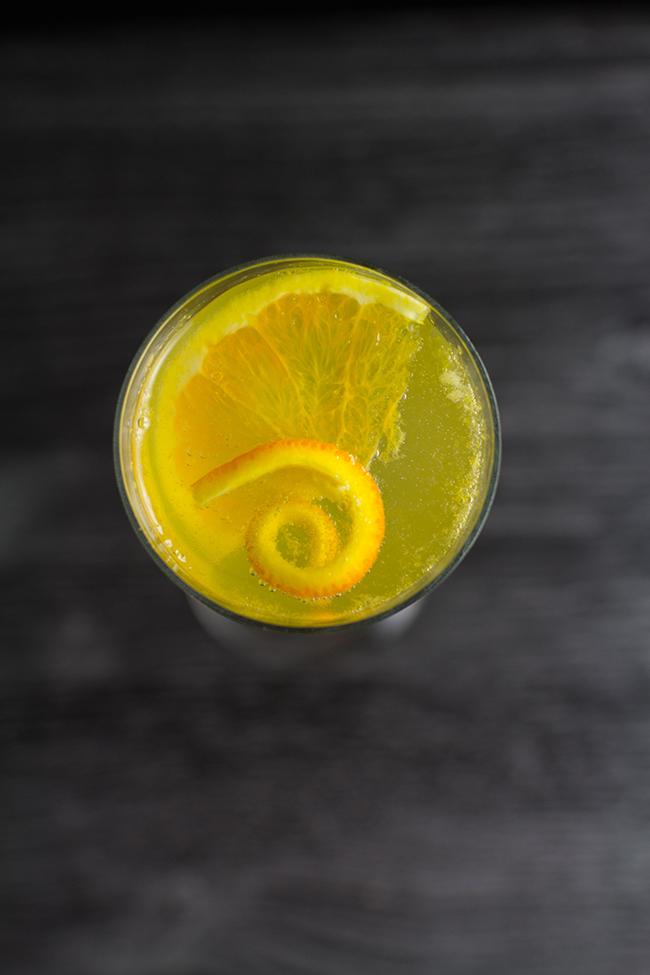 Orange and Cinnamon Mimosa