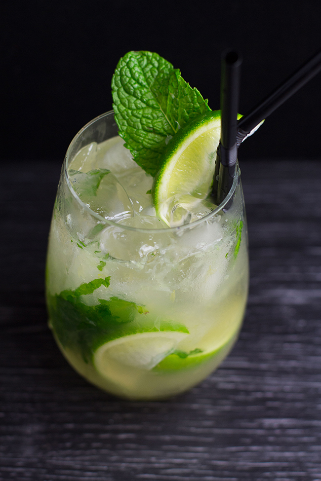 Pineapple and Ginger Syrup Tequila Smash
