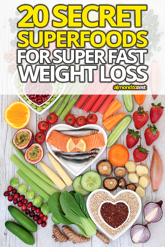 Want to activate EXTREME weight loss with these incredible superfoods? Naturally boost your metabolism, slim down and improve your health by adding these secret foods to your diet!